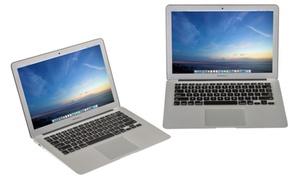 "Apple MacBook Air 11.6"" and 13.3"" Laptop (Refurbished)."
