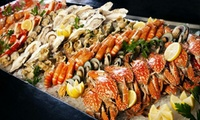 Seafood Themed Buffet with Soft Drinks or House Beverages for Up to Four People at Dubai Marine Beach Resort & Spa