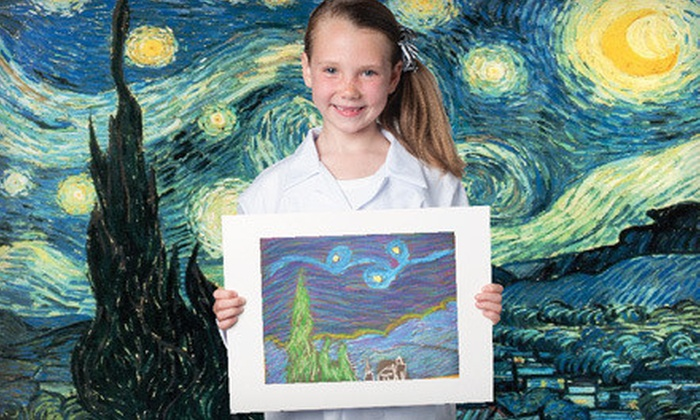 Fibo Kids Art Academy - Yorba Linda: One Month of Kids Art Classes at Fibo Kids Art Academy (Up to 74% Off). Three Age Groups Available.