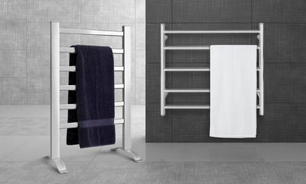 for a Range of Heated Bathroom Towel Rails in Standing or WallMounted Design