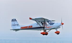 Flugsportzentrum Mitteldeutschland: 30 Min. im Ultraleichtflugzeug od. Gyrocopter selber fliegen im Flugsportzentrum Mitteldeutschland (bis zum 69% sparen*)