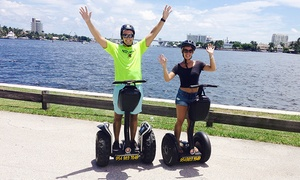 Up to 55% Off Segway Tour from Segway Fort Lauderdale at Segway Fort Lauderdale, plus 6.0% Cash Back from Ebates.