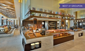 Khayal restaurant at Marriott Hotel Al Forsan: Lunch, Dinner, or International Dinner Buffet with Drinks for Up to Four at Khayal at Marriott Al Forsan (Up to 57% Off)