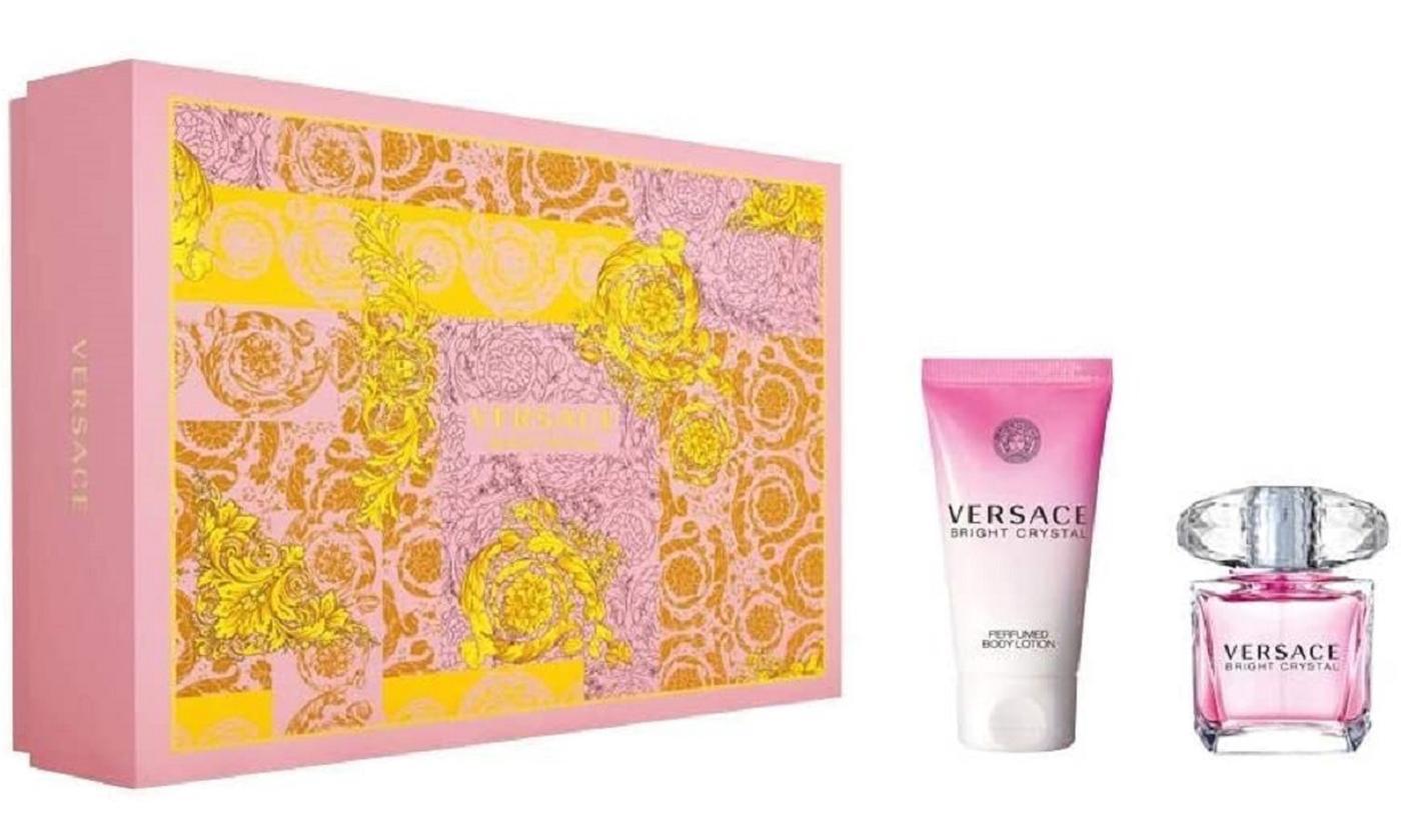 Versace Bright Crystal Eau de Toilette 30ml and Body Lotion 50ml Set