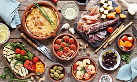 groupon.com - Spanish Cuisine for Takeout or Delivery at Taberna del Alabardero (Up to 59% Off). Two Options Available.