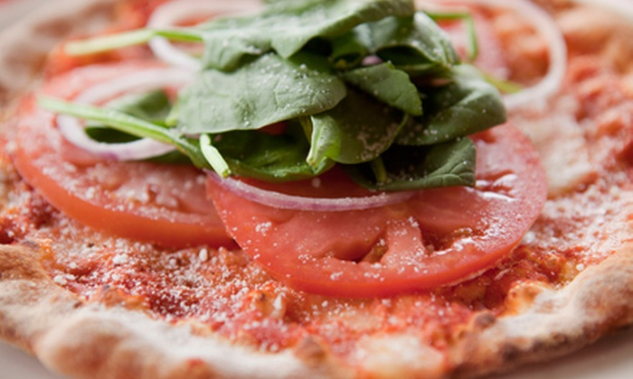 Primavera's Pizza Bistro - Morris Plains: Pizza and Italian Cuisine at Primavera's Pizza Bistro (Half Off). Two Options Available.