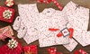 Angelina Coffee Print Pajama Sets, Blanket Sets or Sleep Bottoms