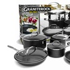 GraniteRock Non-Stick Triple-Coated Cookware Set (10-Piece)