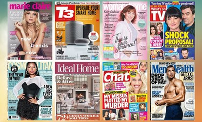 12-Months Unlimited Access to over 5,000 Magazines (62% Off)