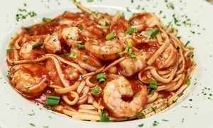 Lafitte's Landing Seafood House: Seafood Cuisine and Drinks for Two or Four at Lafitte's Landing Seafood House (50% Off)