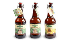 Healthy Harvest Productions: Two or Four Bottles of Cooking Oil from Healthy Harvest Productions ( 34% Off)