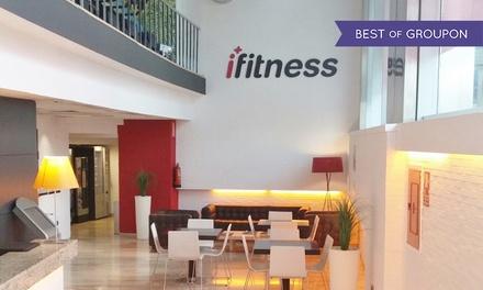 1 mes de acceso a gimnasio para 1 o 2 personas desde 9,90 € en 4 centros Ifitness