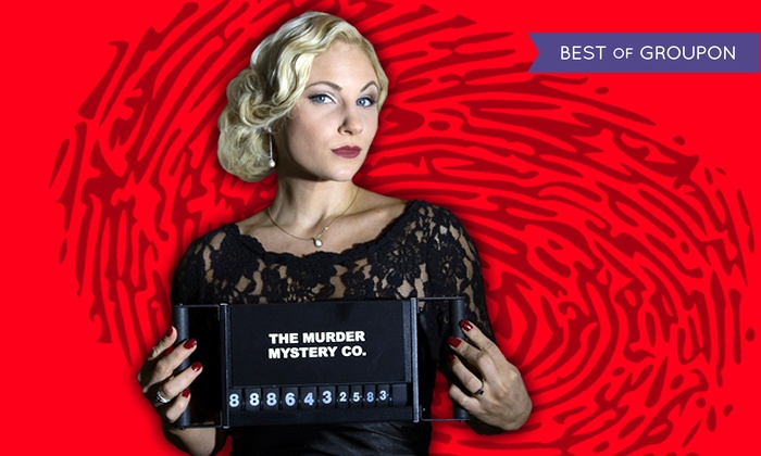The Murder Mystery Co.: Murder-Mystery Dinner for One or Two at The Murder Mystery Co. (Up to 50% Off)
