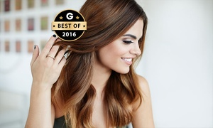 Virgara Hair & Beauty: $29 Cut, Wash + Blow-Dry, $49 with Half-Head or $79 with Full Head of Foils at Virgara Hair & Beauty (Up to $178 Value)