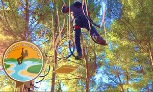 Pozzillo Avventura: Ingresso parco con percorsi, teleferiche e arrampicata per 2 persone al parco Pozzillo Avventura (sconto fino a 51%)