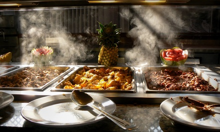 Buffet with Soft Drinks: Child (AED 39), Adult (AED 59) at Bistro Med, Grand Continental Flamingo Hotel (Up to 53% Off)