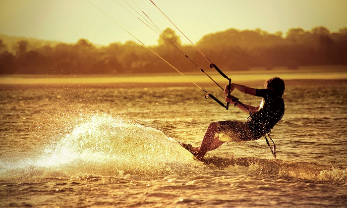 Ultimate Kite Surfing - Fort Myers / Cape Coral: Kite-Boarding Lessons from Ultimate Kite Surfing (Up to 54% Off). Five Options Available.
