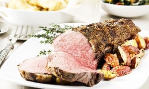 Waterloo Bar & Kitchen: Sunday Roast with Prosecco for Two or Four at Waterloo Bar & Kitchen (Up to 52% Off)
