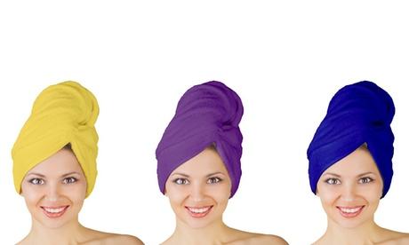 Microfiber 123 Hair Drying Turban a87ac486-a667-11e6-ba7e-00259069d7cc