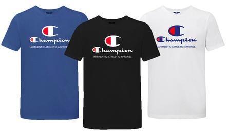 1 o 2 camisetas de manga corta Champion para hombre