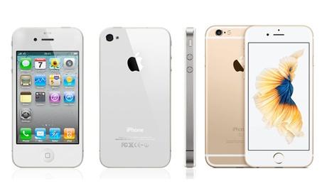 Apple iPhone 4/4S, 5/5C/5S, 6/6S, 7/7 Plus reacondicionado(envío gratuito)