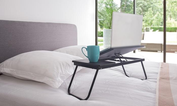 plateau de lit pour ordinateur groupon. Black Bedroom Furniture Sets. Home Design Ideas