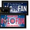 MLB #1 Fan Baseball Clocks