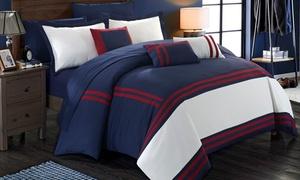 Eleanor Oversized Comforter and Sheet Set (10-Piece)
