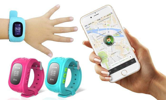 Montre connectée bluetooth pour enfants,GPS /tracker,compatible avec tous smartphones dès 29,99 € (jusqu'à - 75% )