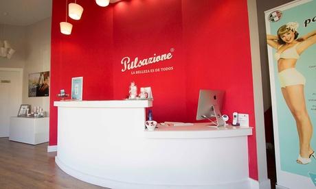 5 o 10 sesiones de cavitación, presoterapia y masaje drenante manual desde 39,95 € en Pulsazione