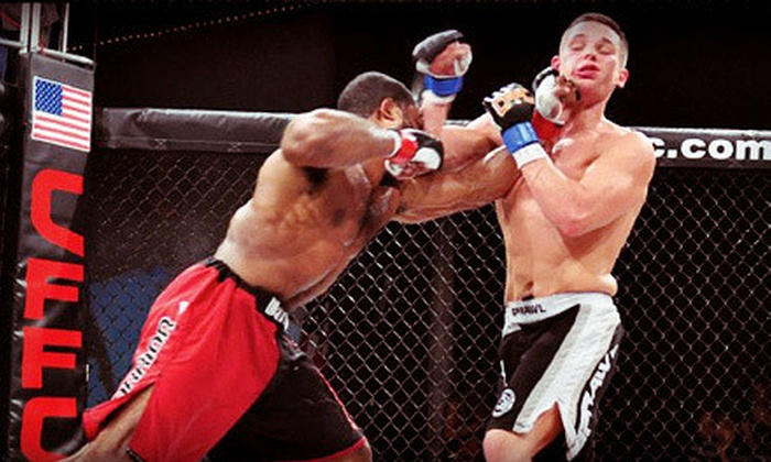 Cage Fury Fighting Championships - Valley Forge Casino Resort: Cage Fury Fighting Championships at Valley Forge Casino Resort on Friday, April 12, at 7:30 p.m. ($75 Value)