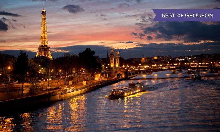 Hôtel le Canal - Hôtel Le Canal: Parigi: Hôtel le Canal, fino a 3 giorni con welcome drink, colazione e crociera sulla Senna opzionale per 2 persone