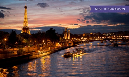 Paris: 1, 2 or 3 Nights for Two with a Welcome Drink and Options for Breakfast and the Seine Cruise at Hotel le Canal