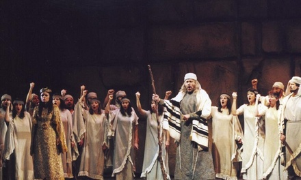 Une place au Bozar pour l'opéra Nabucco le 15 décembre  à 20h dès 23,99 €