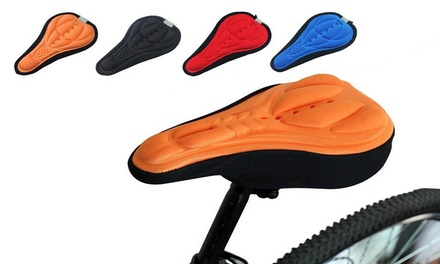 Memory Foam Bike Seat Cover in Four Colours: One $9 or Two $14