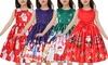 Kids' Christmas Sleeveless Dress