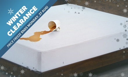 WINTER CLEARANCE: .95 for a Bamboo Waterproof Mattress Protector Don't Pay Up to $99