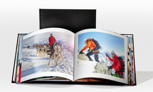 Printerpix: Livre XL cuir 30x30cm de 20, 40, 60 ou 100 pages sur Printerpix dès 12,95 €