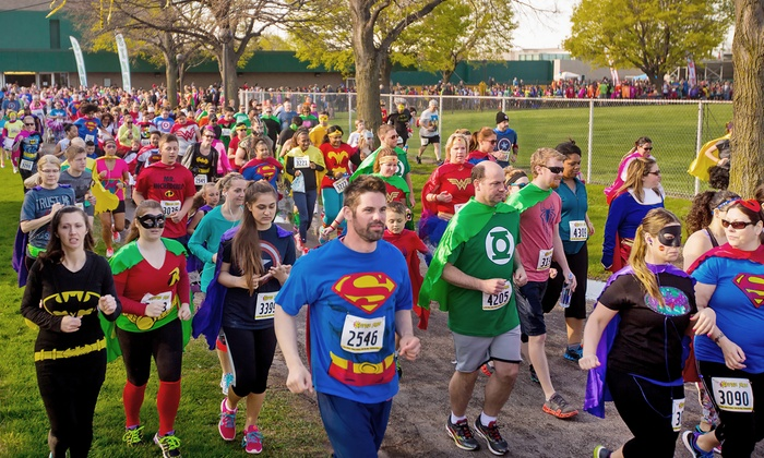 The Super Run - George Rogers Park: Entry for One or Two to The Super Run on Saturday, July 16 (Up to 56% Off)