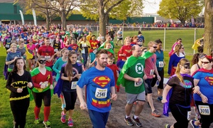 Superfly Running Inc: Entry for One or Two to The Super Run from Superfly Running Inc on Saturday, October 15 (Up to 56% Off)