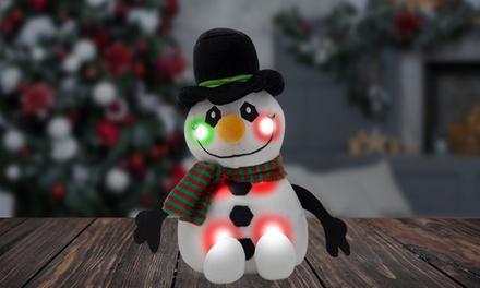 RMS Light-Up Plush Snowman