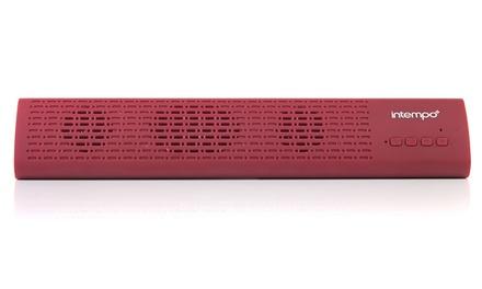 Intempo EE1809REDSTK Mini Bluetooth Sound Bar