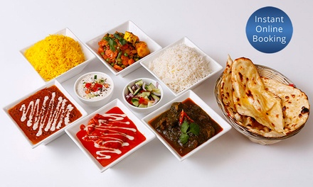 Weekend Thali Indian Lunch + Wine for Two $49 or Four People $95 at 2 Fat Indians Highgate Up to $162 Value