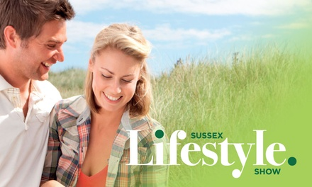 One or Two Tickets to the Sussex Lifestyle Show on 27 28 May at Hilton Brighton Metropole