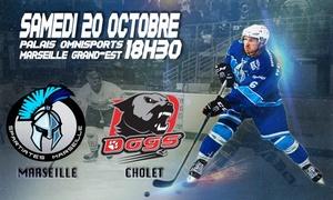 Places pour des matches de hockey à Marseille