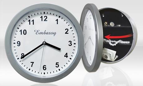 Reloj de pared con caja fuerte por 9,99 €