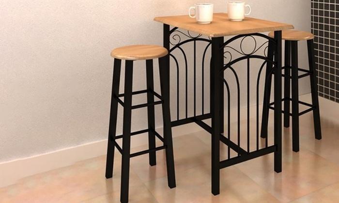 Verwonderlijk Bartafel met barkrukken/-stoelen | Groupon Goods IW-08