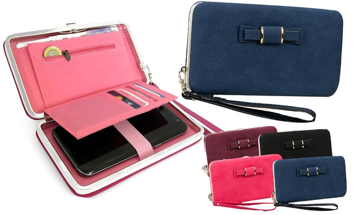 One or Two Bow Tie Phone Purses from £6.98