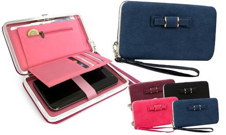 One or Two Bow Tie Phone Purses in Choice of Colour
