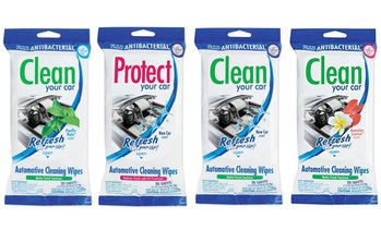 Refresh Your Car! Automotive Cleaning and Protectant Wipes (3-Pack)